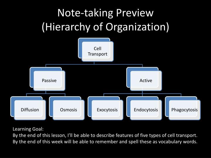 Note-taking Preview