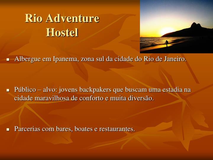 Rio Adventure Hostel