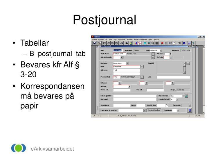 Postjournal