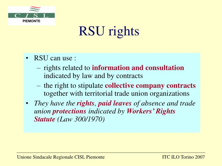 RSU rights