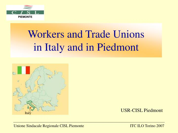 Workers and Trade Unions