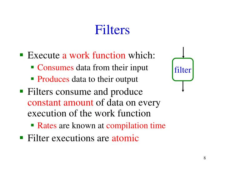 Filters