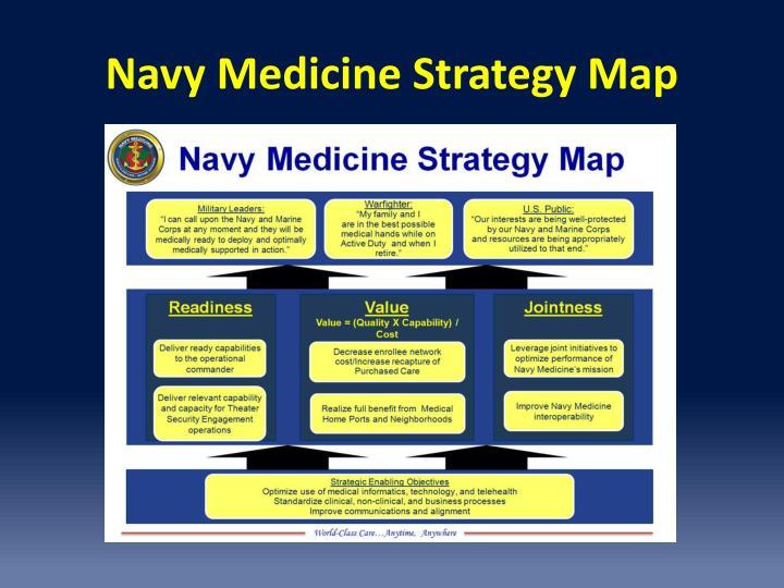Navy Medicine Strategy Map
