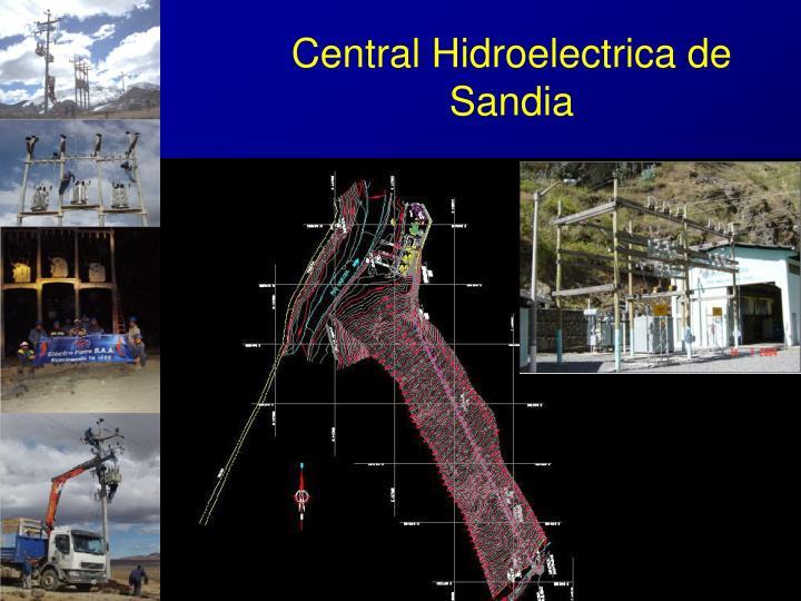 Central Hidroelectrica de Sandia