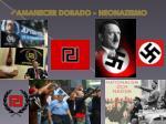 amanecer dorado neonazismo