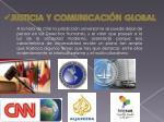 justicia y comunicaci n global
