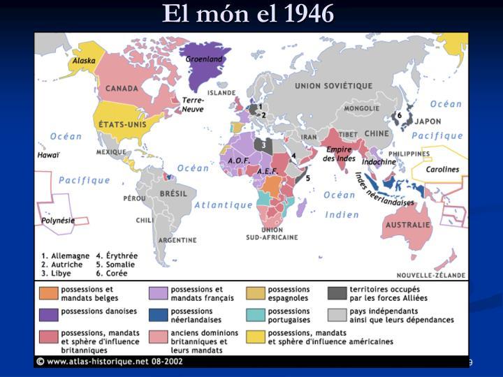 El món el 1946