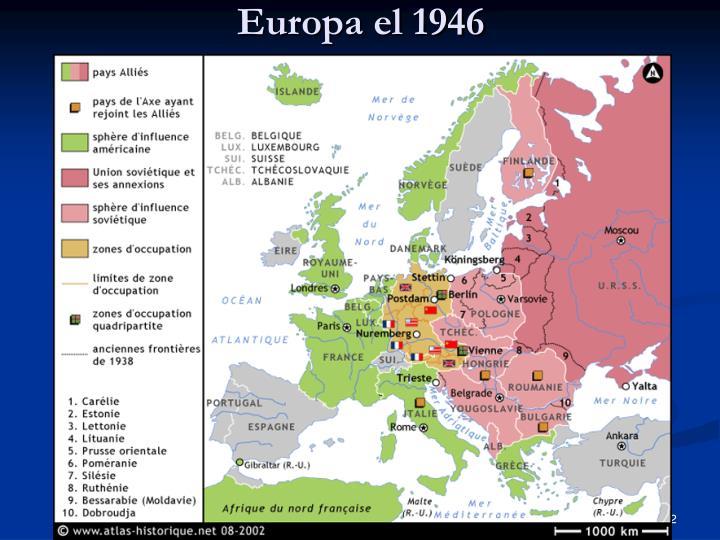 Europa el 1946