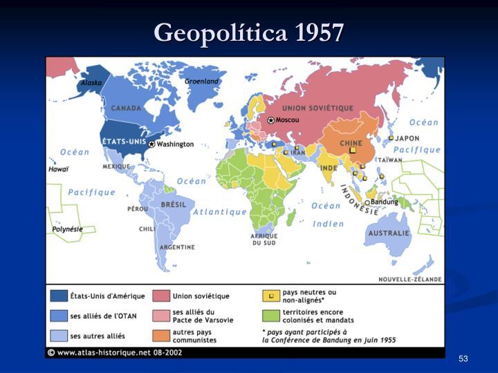 Geopolítica 1957