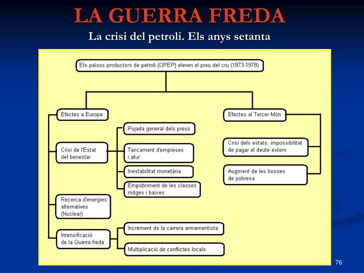 LA GUERRA FREDA