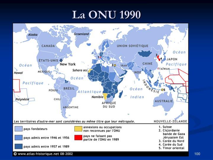 La ONU 1990