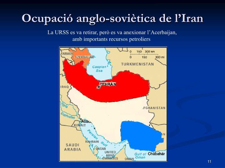 Ocupació anglo-soviètica de l'Iran