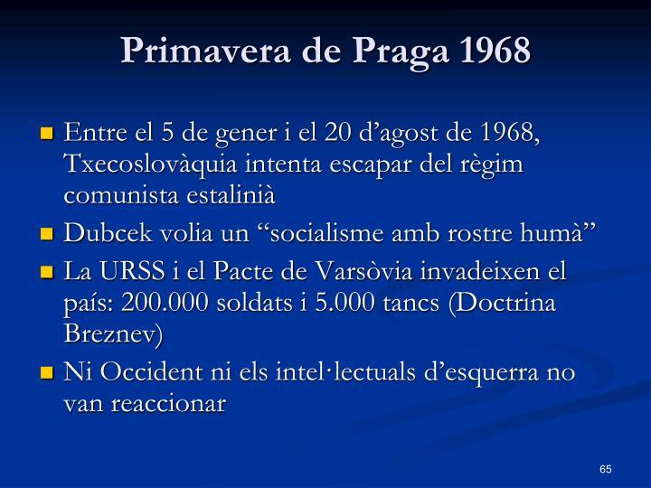 Primavera de Praga 1968