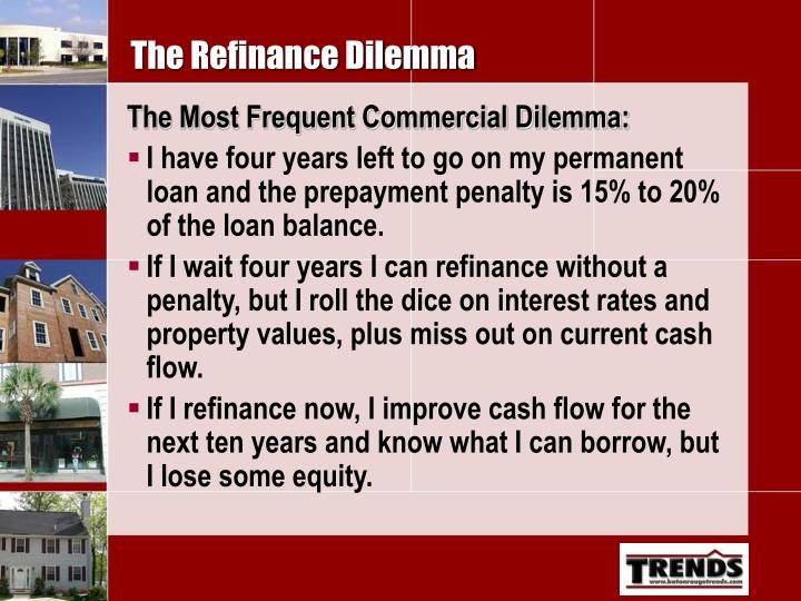 The Refinance Dilemma