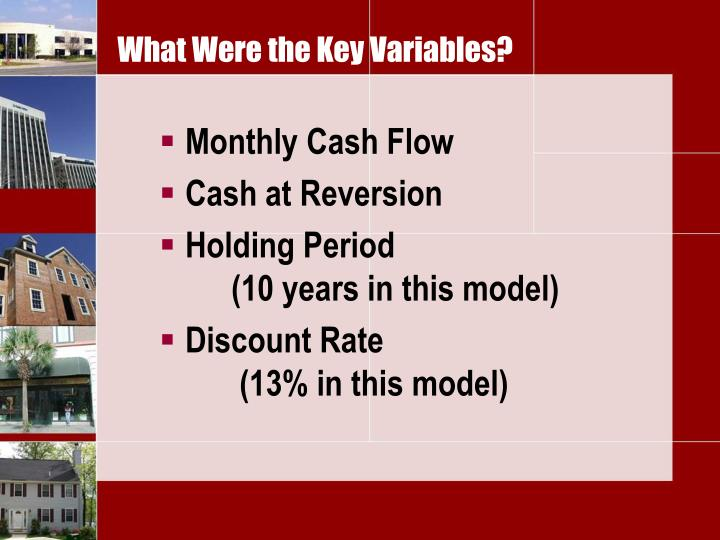 What Were the Key Variables?