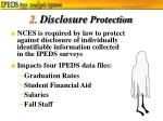 2 disclosure protection