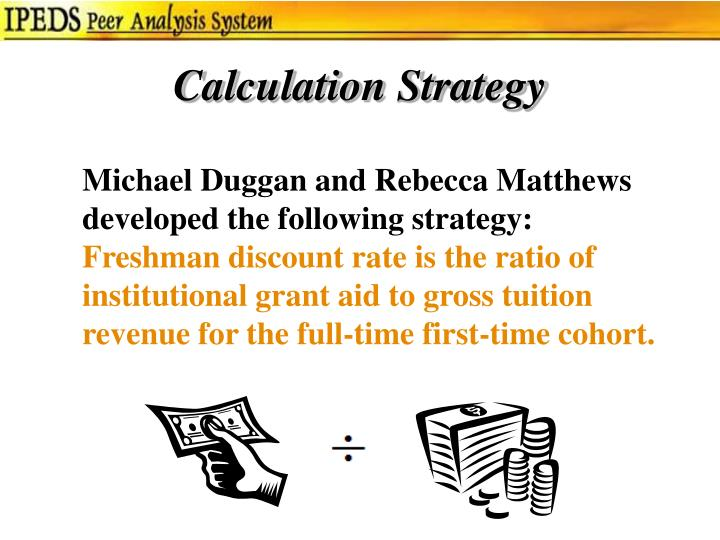 Calculation Strategy