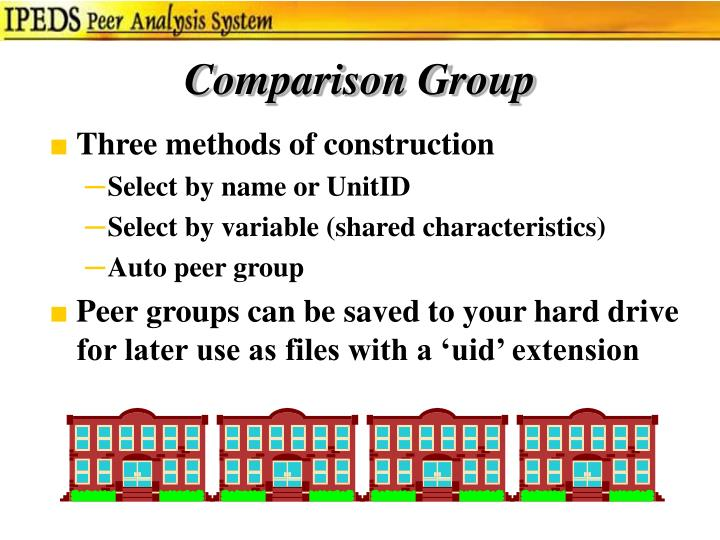 Comparison Group