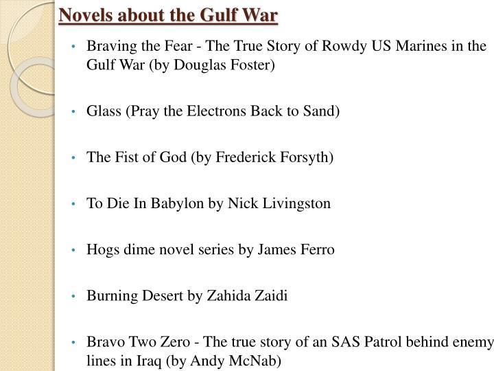 Novels about the Gulf War