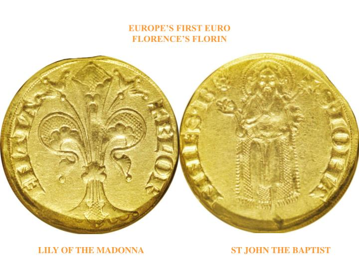 Europe s first euro florence s florin