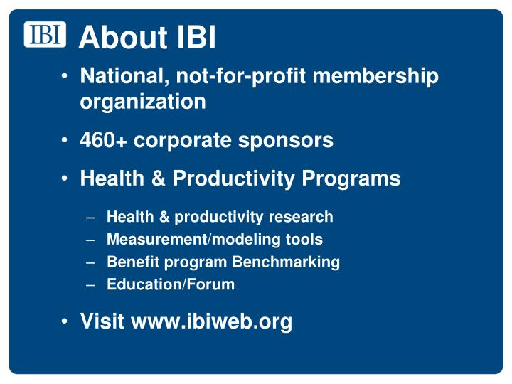 About ibi