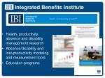 integrated benefits institute1