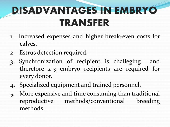 embryo transfer in cattle popular with Embryo transfer in cattle has gained considerable popularity with seed stock beef producers while most modern applicable embryo transfer technology was developed in the 1970s and 1980s, the history of the procedure goes back considerably farther.