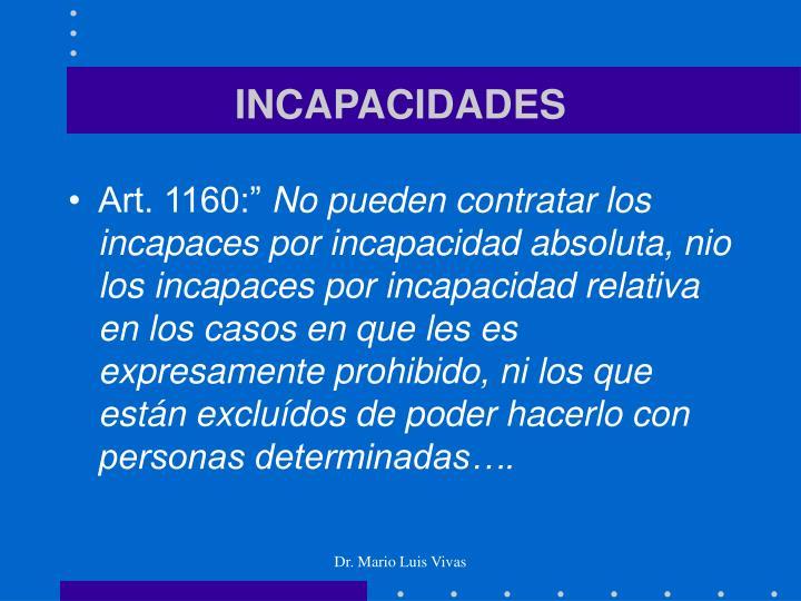 INCAPACIDADES