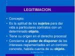 legitimacion