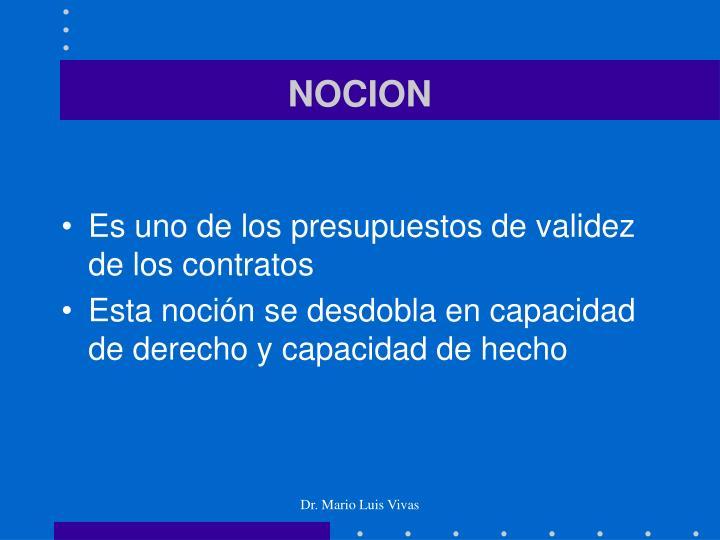 NOCION