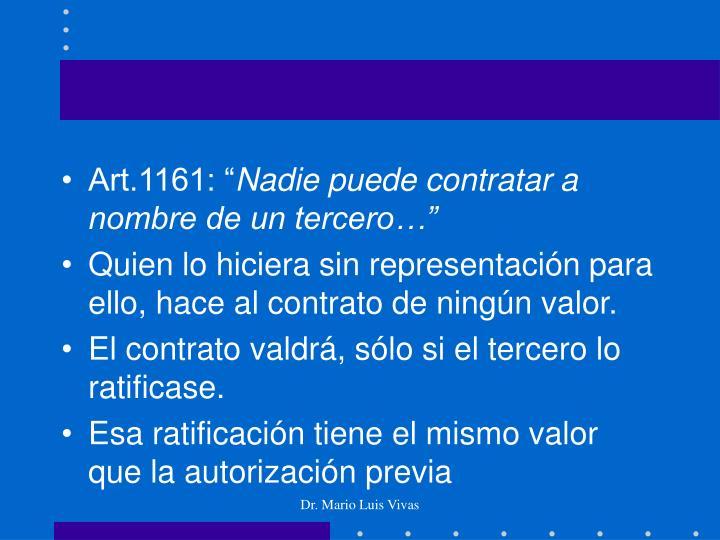 """Art.1161: """""""