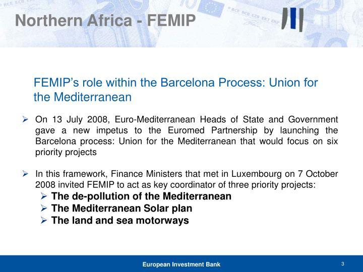 Northern Africa - FEMIP
