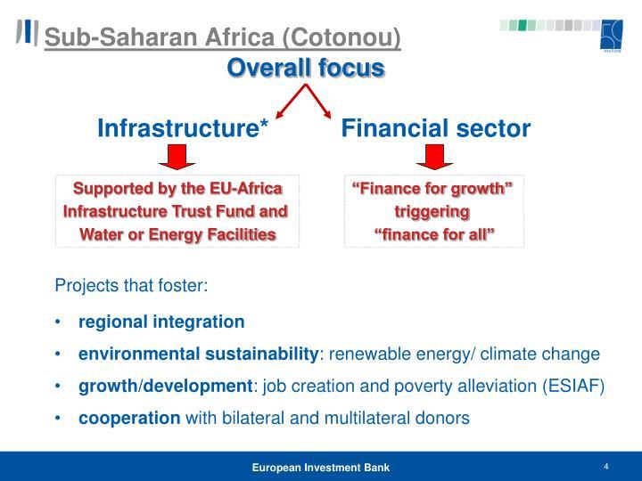 Sub-Saharan Africa (Cotonou)
