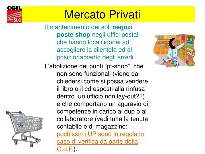 Mercato Privati