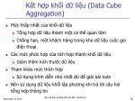 k t h p kh i d li u data cube aggregation