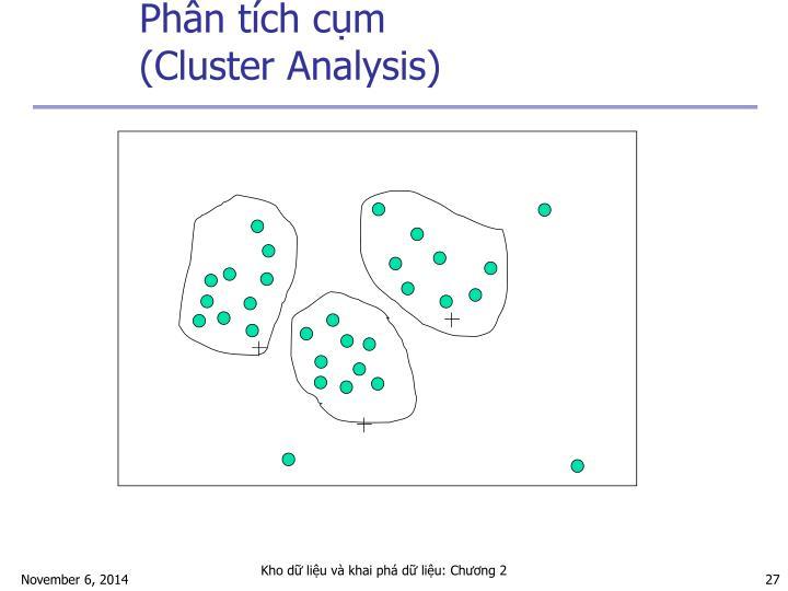 Phân tích cụm (Cluster Analysis)