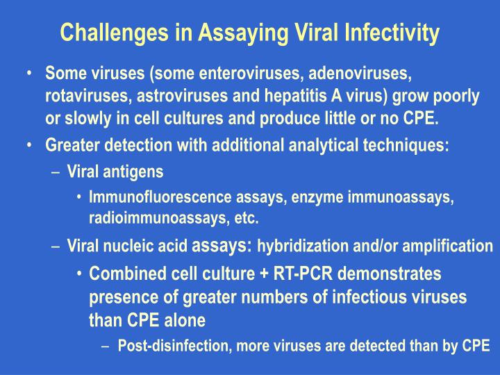 Challenges in Assaying Viral Infectivity