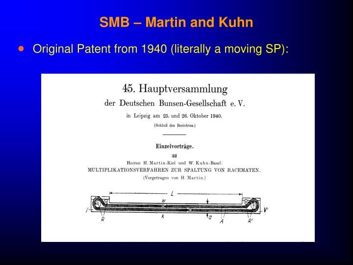 SMB – Martin and Kuhn