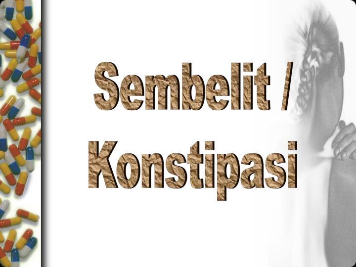 Sembelit /