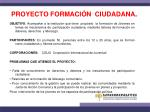 proyecto formaci n ciudadana