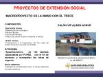 proyectos de extensi n social
