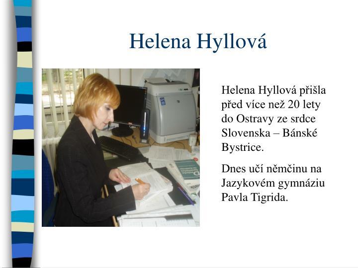 Helena Hyllová