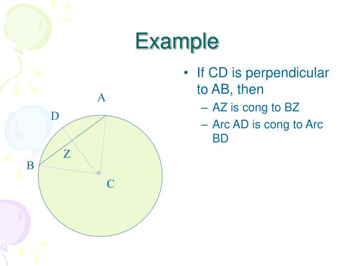 If CD is perpendicular to AB, then