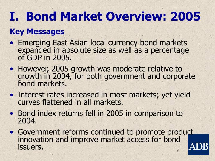I.  Bond Market Overview: 2005