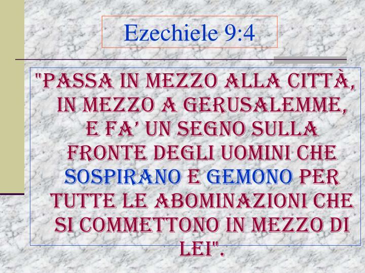 Ezechiele 9:4