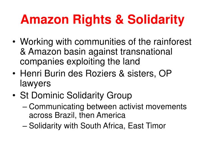 Amazon Rights & Solidarity