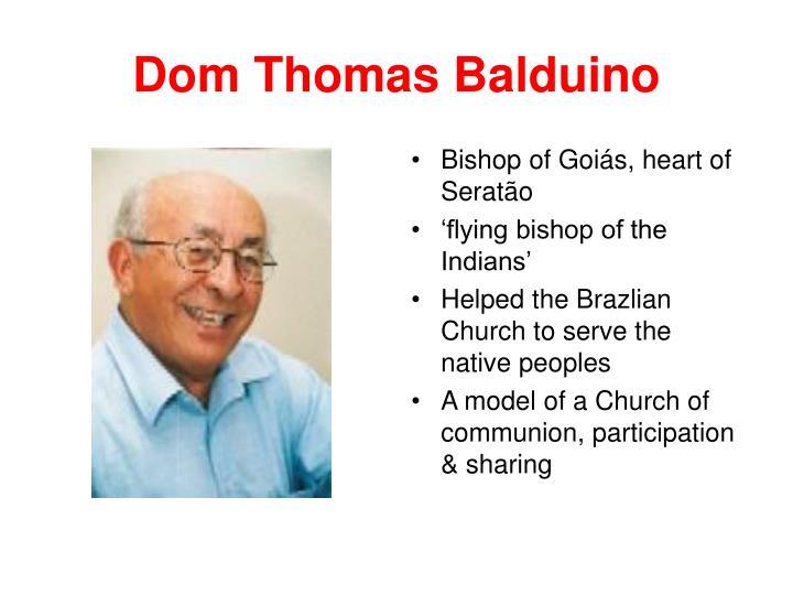 Dom Thomas Balduino