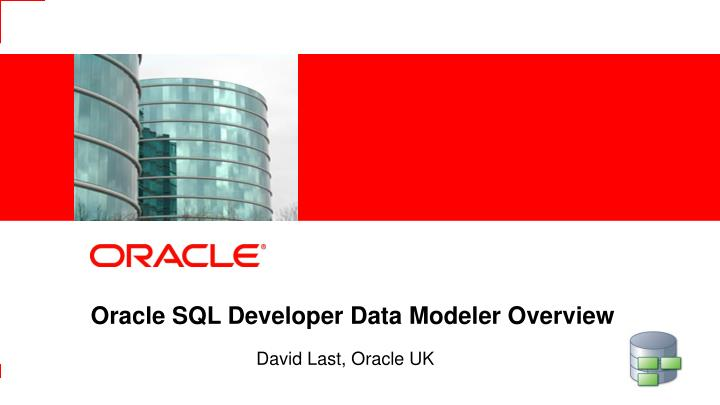 Oracle SQL Developer Data