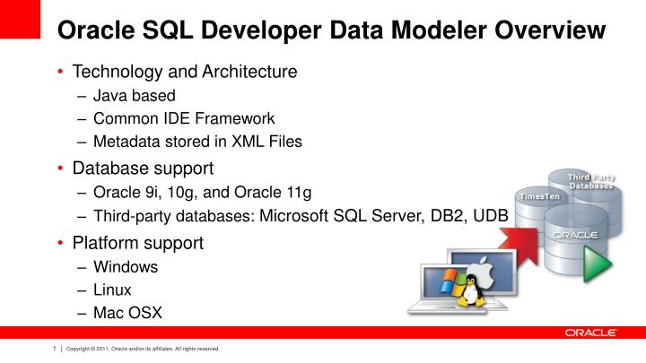 Oracle SQL Developer Data Modeler Overview