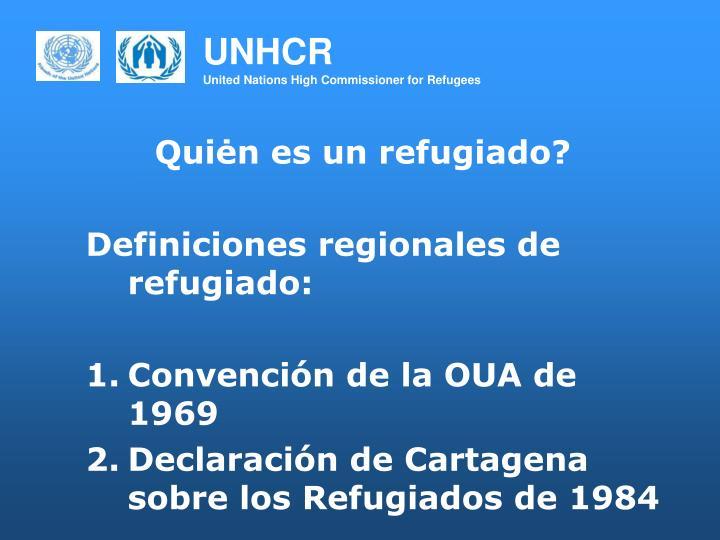 Quiėn es un refugiado?